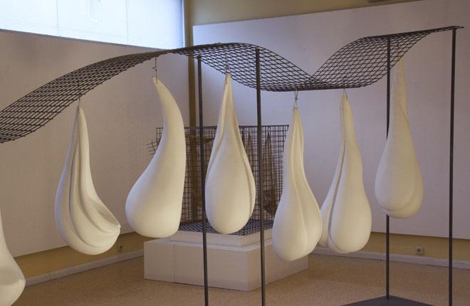 Escultura. Exposición Semillas del aire
