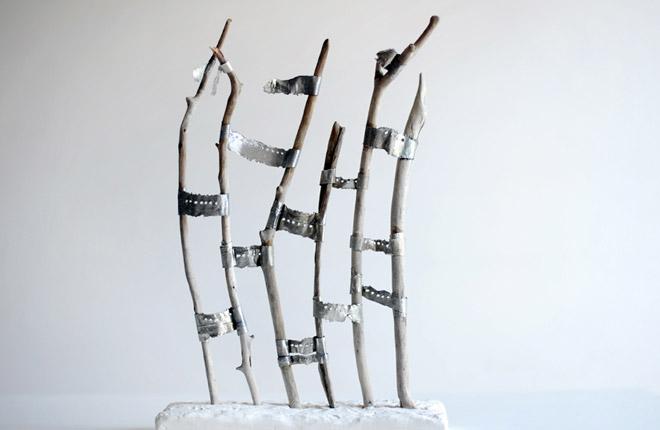Escultura. Ecos del agua